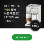 Win een Nespresso Lattissima Touch koffiemachine €279
