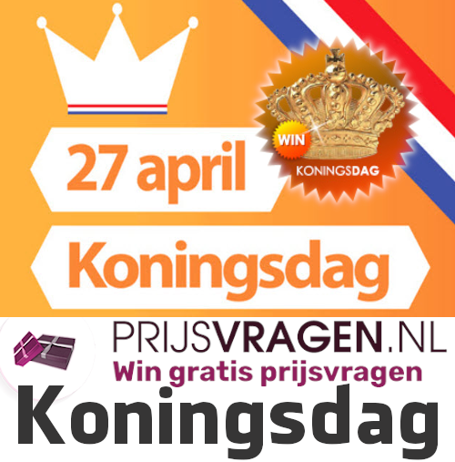 Win Koningsdag prijzen en party tickets